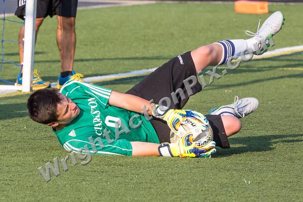 2015 08 18 Clarkston Boys JV Soccer Scrimmage