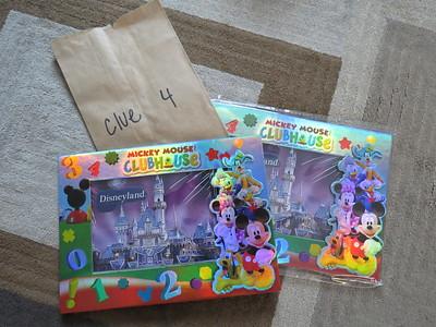 Clue 4 - Surprise to Disneyland