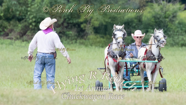 Ponies and Little Mules Flying R 1st Annual Chuck Wagon Race