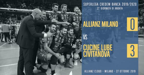 2^ And: Allianz Milano - Cucine Lube Civitanova