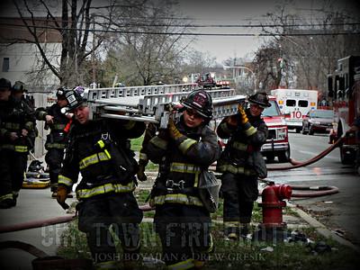Working Fire @ 1630 S Karlov Ave