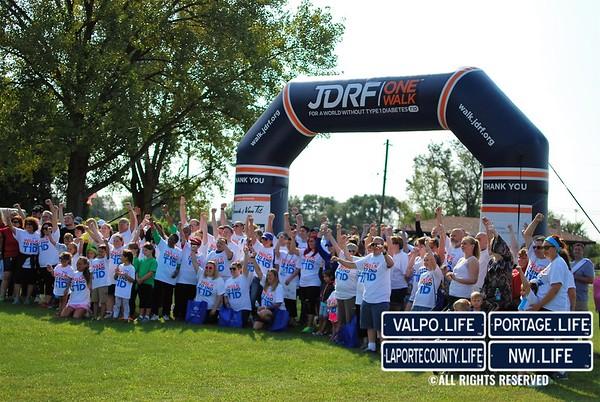 JDRF One Walk: Merrillville 2016