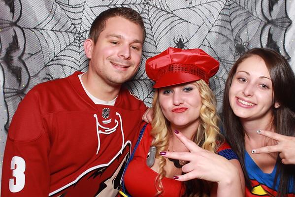 Kelly Whallon Halloween Party 2014