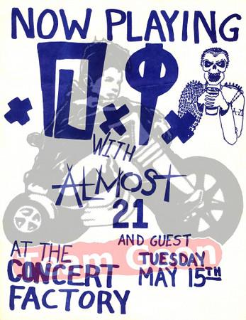 DI - Almost 21 - May 15, 1984 - Concert Factory - Costa Mesa, CA