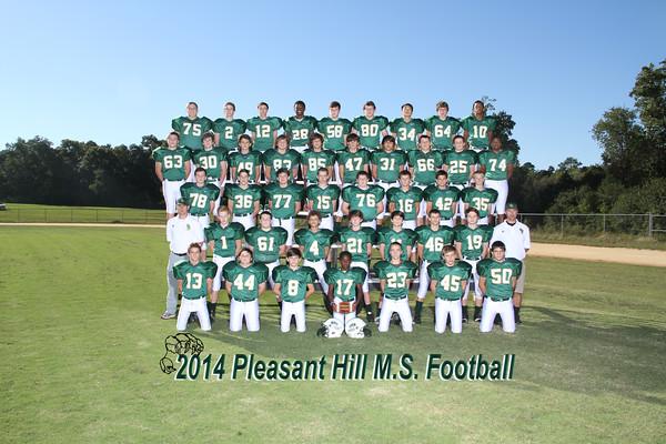 2014 Pleasant hill  Footbal