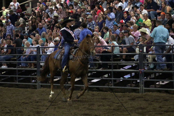 Saturday Night Llano County Rodeo Royalty