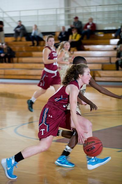 2/10/16: Girls' Varsity Basketball vs Westminster