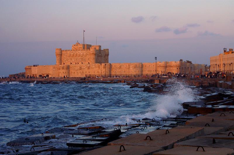Kait-el-Bay fort in Alexandria