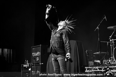 Riot Fest 2012 after party with The Casualties - The Adicts - The Dickies - at Congress Theater - Chicago, IL - September 15, 2012