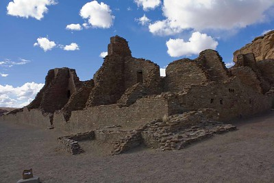 Chaco Canyon Natl Monument  ,Apr 2016