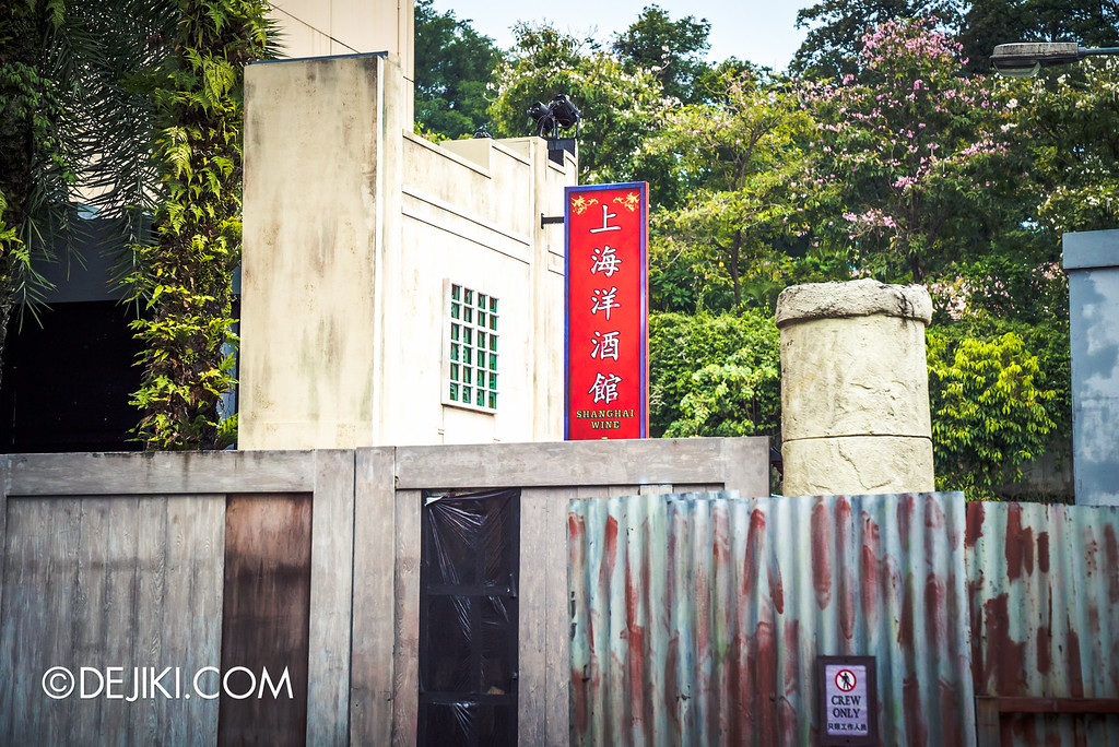 Universal Studios Singapore - Halloween Horror Nights 6 Before Dark Day Photo Report 2 - Hu Li's Inn backstage