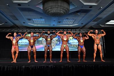 Men's Bodybuilding Masters 35+ SHW