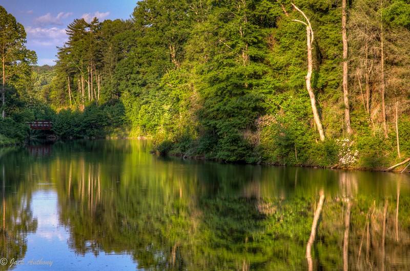 Lake Zwerner, Dahlonega, Ga.