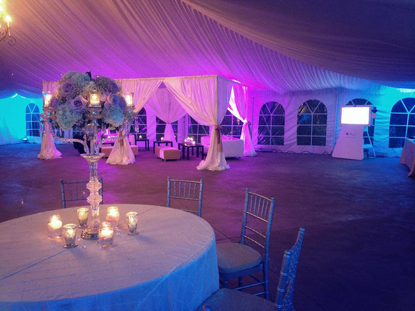 A beautiful display for your wedding reception