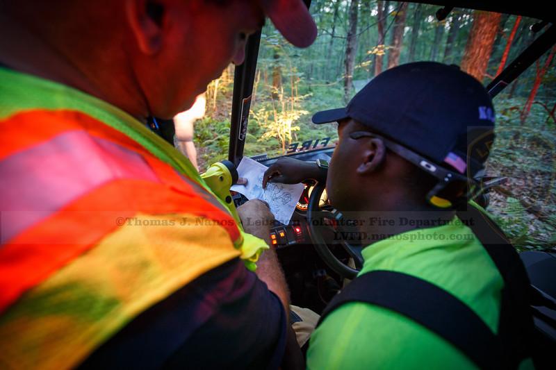Lebanon Volunteer Fire Department Search & Rescue Training