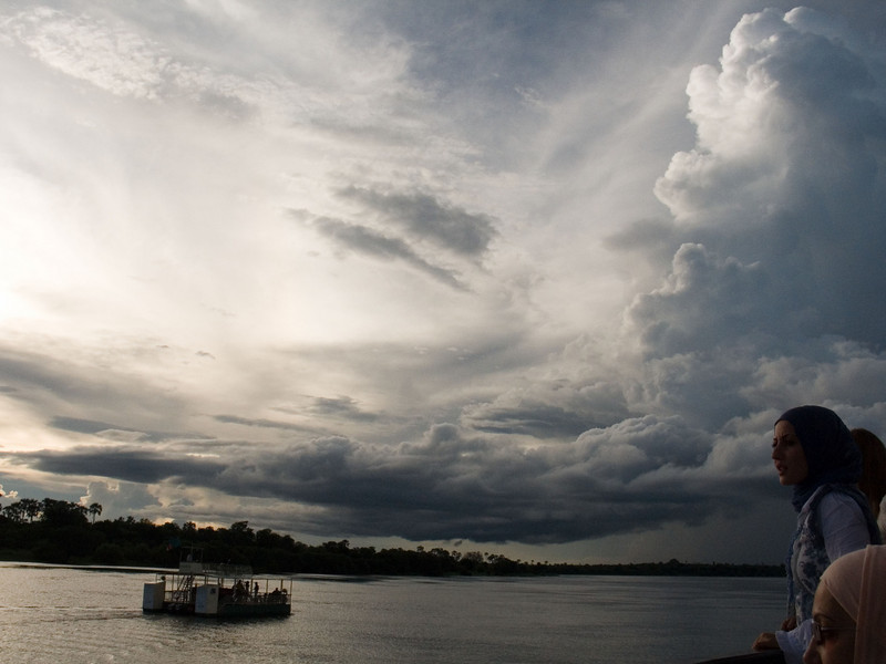 We took a sunset cruise along the Zambezi river on the African Queen.  The skies in the evening and at night are wonderful in Zambia.  Looks like there are a million stars in the sky.