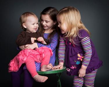 Lisa and kids~ January 2012