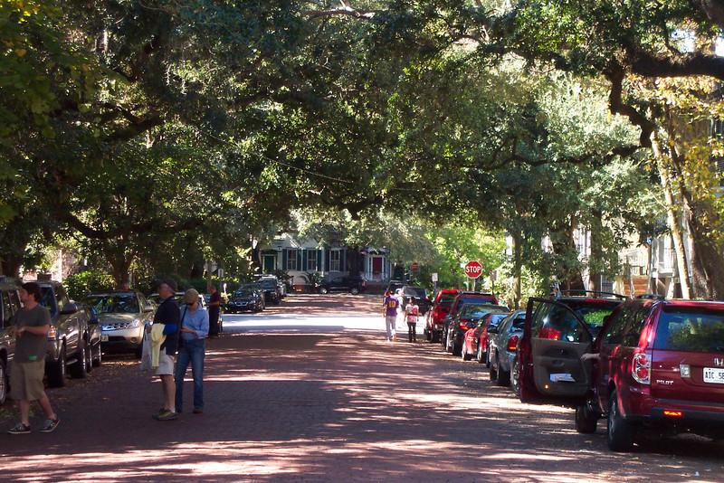 Street Scene in Savannah