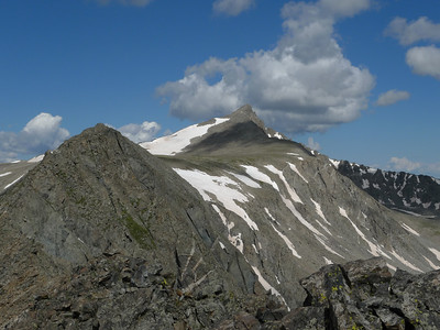 "Pacific Peak and ""Atlantic"" Peak"