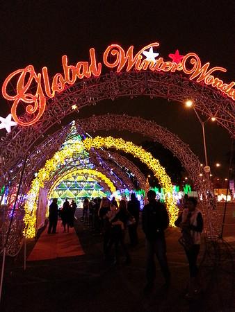 Global Winter Wonderland Opening Day