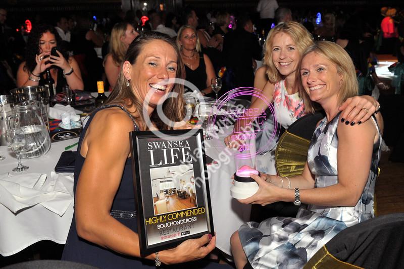 Swansea Life Awards 2017 Brangwyn Hall, Swansea Restaurant Highly Commended... Bouchon de Rossi