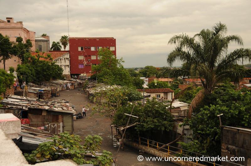 Slums in Asuncion, Paraguay