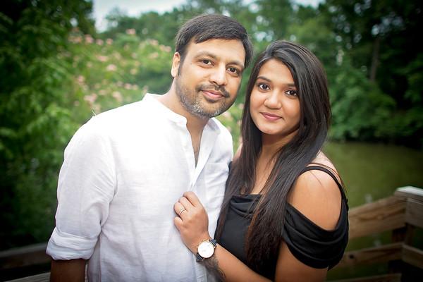 Vishal and Neepa Work Party