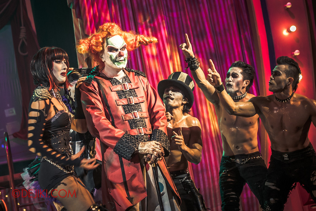 Halloween Horror Nights 6 - Jack's Recurring Nightmare Circus / Maniacs beg for a second chance