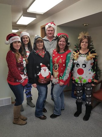 Ugly Sweater Fundraiser 2018