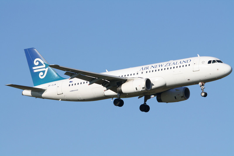 Air New Zealand Airbus A320-232 ZK-OJM