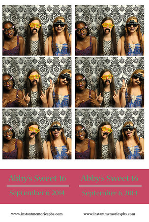 Abby's Sweet Sixteen 9-6-2014