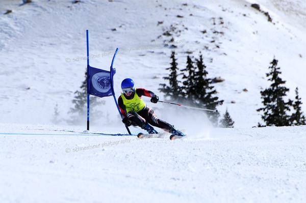 3-13-14 FIS Jr. Championships GS at Loveland - Run #2