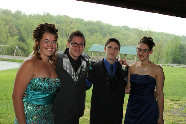 2013 Alden Prom photos at Marilla Park