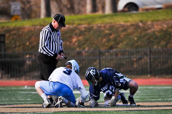 Marquette Varsity Boys vs Parkway West 3/21/18 Loss 6-13
