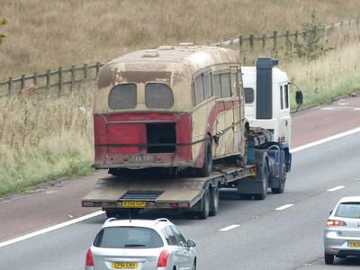 M6 Motorway & Preston