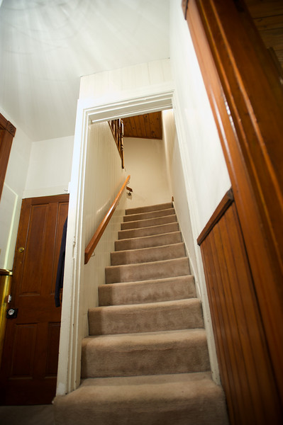 ENTRY - STAIRS TO TOP FLOOR