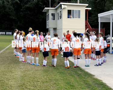 Marshall County Girls Soccer vs. Mayfield, October 1, 2013. Lady Marshals Won 10-0 With 26 Minutes Left In The Second Half.
