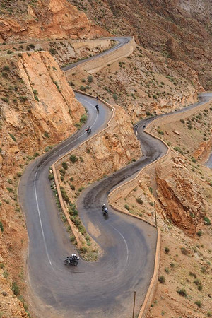 Totally Twisty motorcycle roads