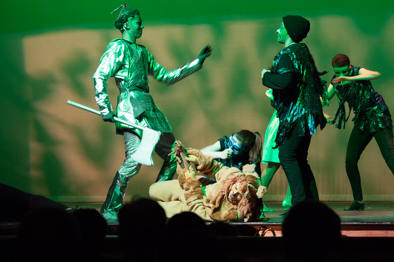 """Kalidah Battle"" -- ""The Wiz"", Montgomery Blair High School spring musical, March 26, 2017"