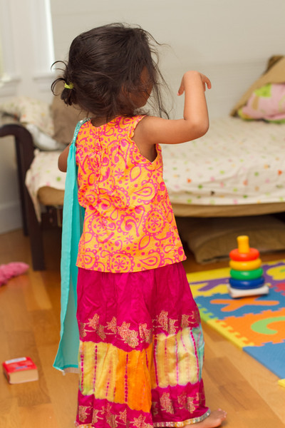 Riya-Dressing up