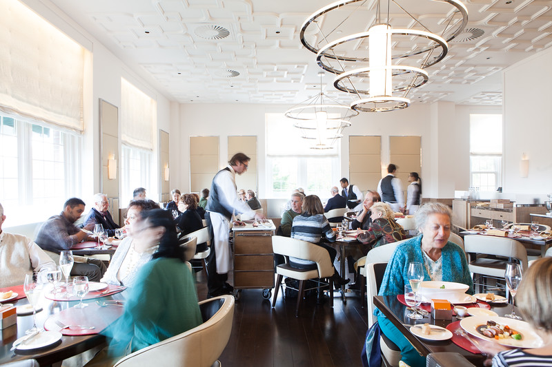 Lunch Service in Bocuse
