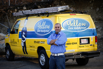 Yellow Van Handy Man - Wayne