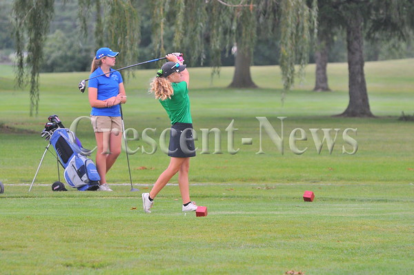 08-18-15 Girls Golf Defiance-Tinora-Fairview