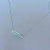 1.78ctw Diamond Mosaic Plaque Pendant, White Gold 7