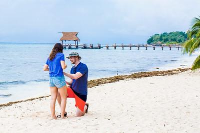 Carson proposes to Sasha in Cozumel, Mexico