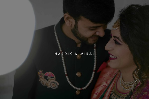 Hardik & Miral / Rajkot 2019