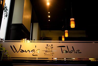Wang's Table Photos