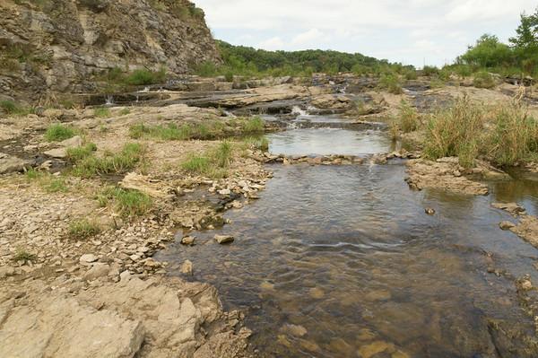 Lake MacBride Dam