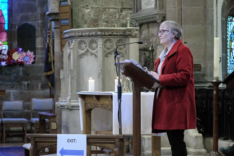 The Annual Parochial Church Meeting (APCM) held at Saint Nicolas' Church, Kings Norton on Sunday 11 October 2020. Amanda Wright.