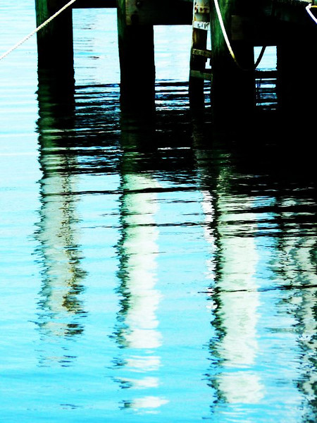 Dock Piling Reflection.jpg
